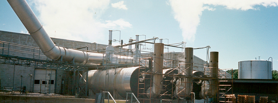 Design and specification of controls for air pollution, odor and solvent recovery