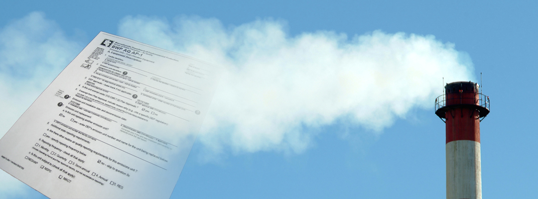 Air source registration and inventory reports